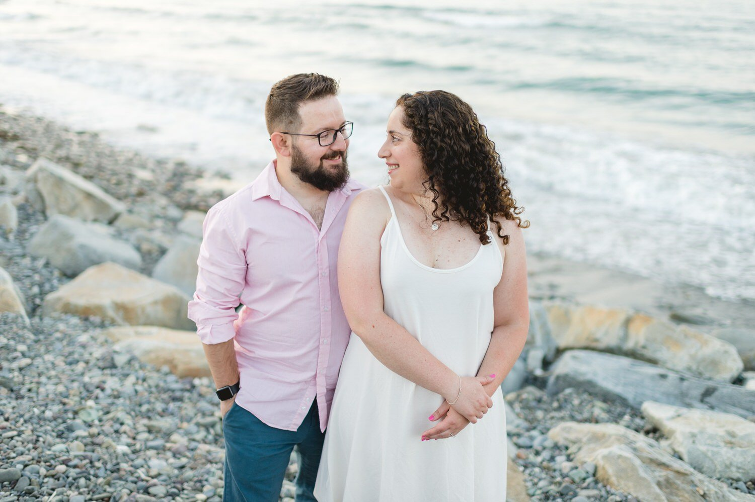 Nantasket Beach Engagement Session