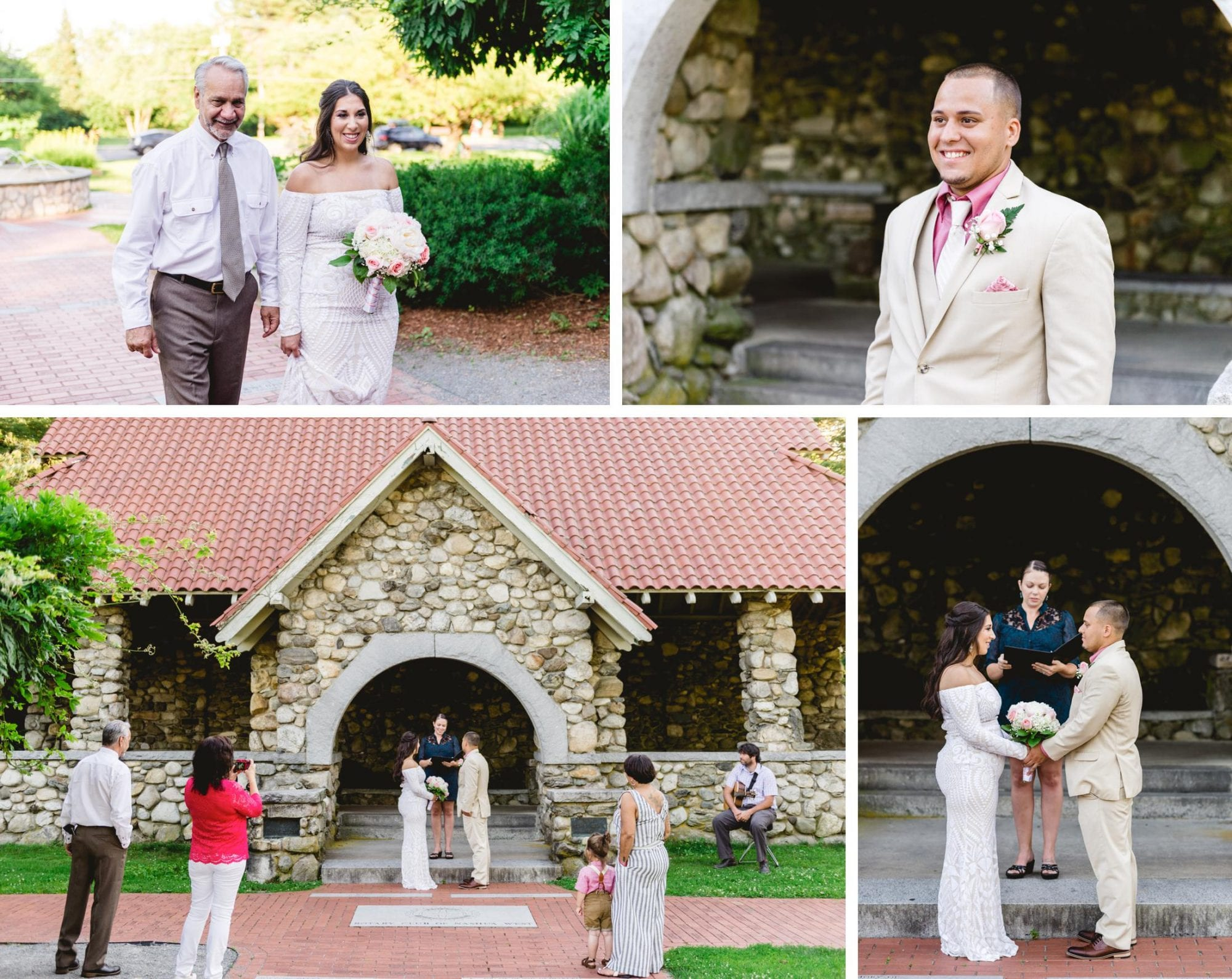 Greeley Park Elopement Nashua NH