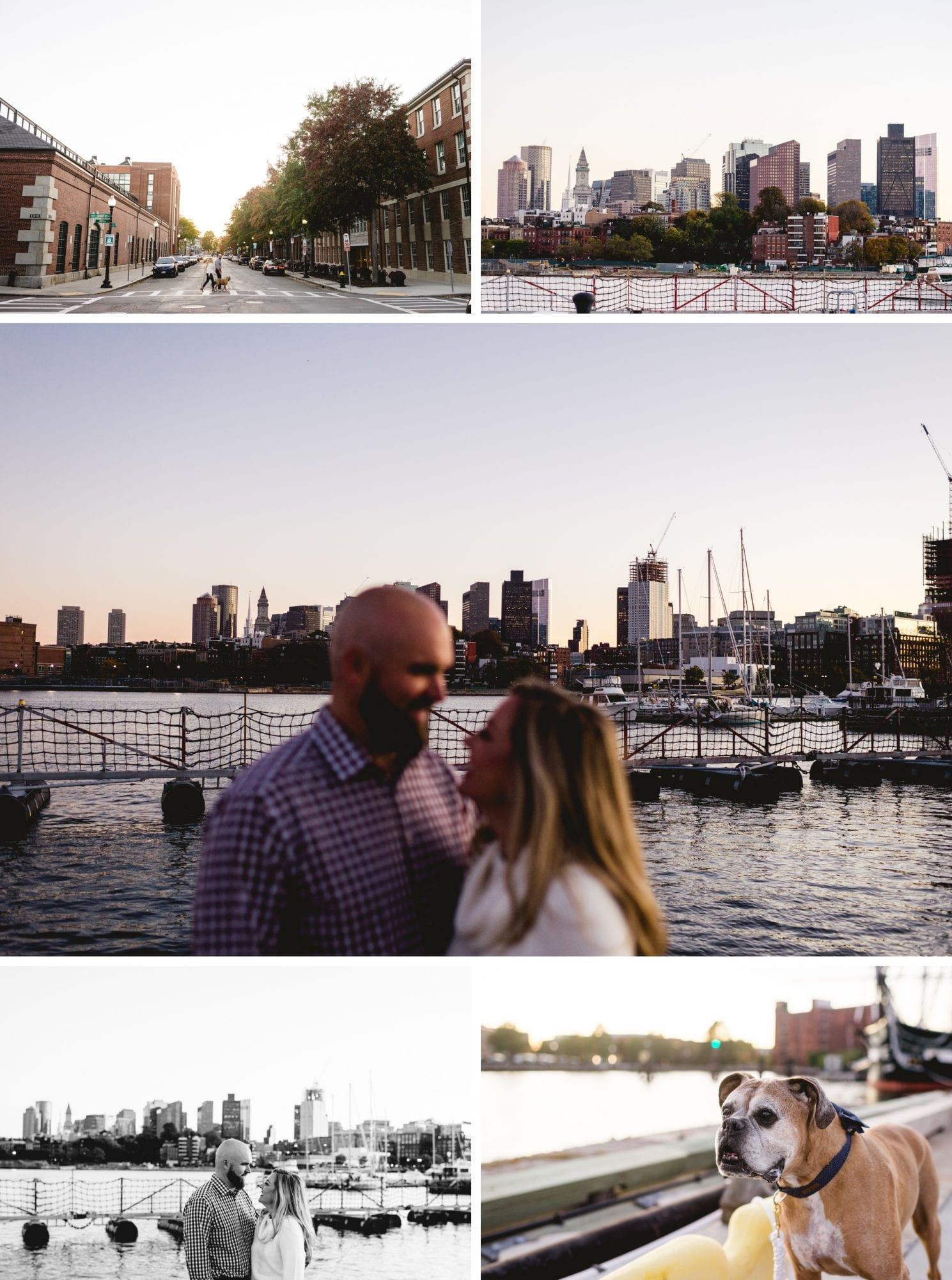 Charlestown Navy Yard Engagement Session