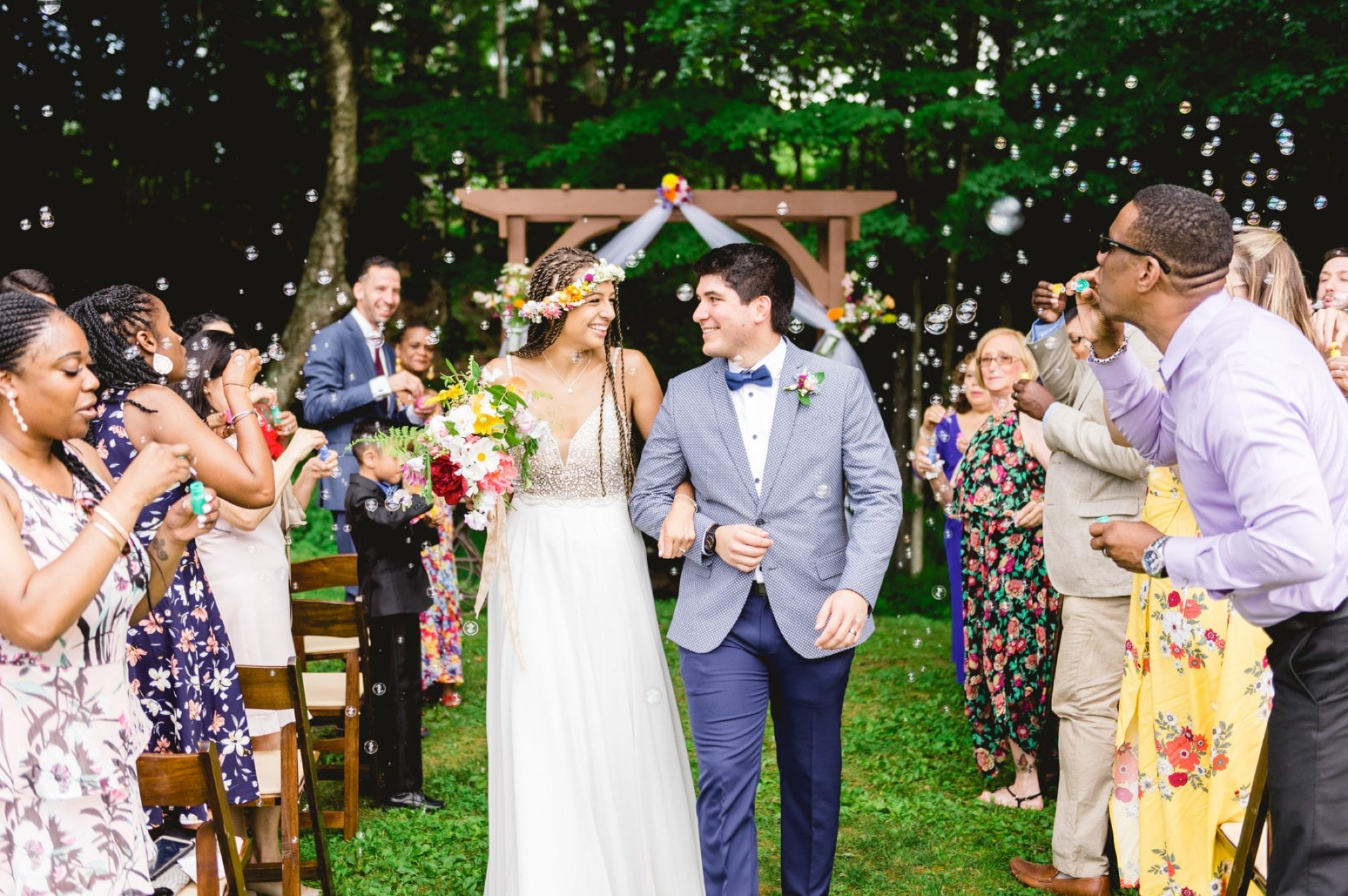 Trailside Inn Vermont Summer Wedding