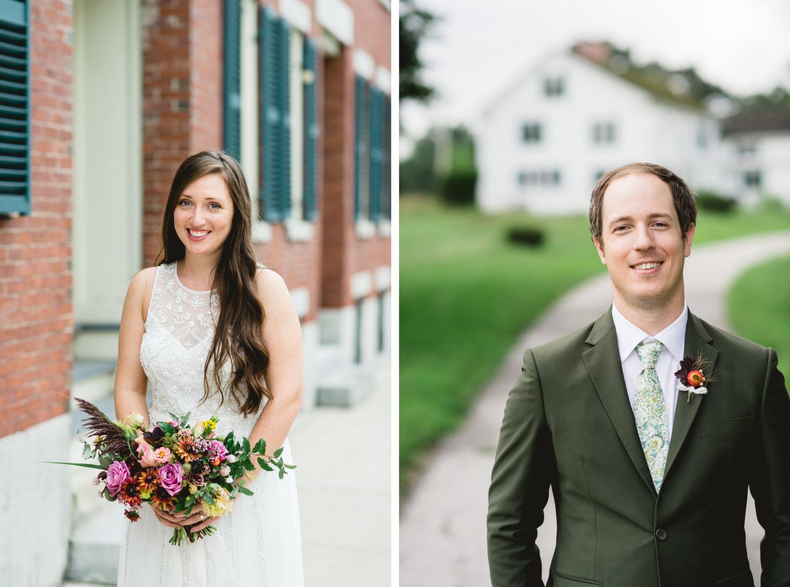 New England Backyard Barn Wedding