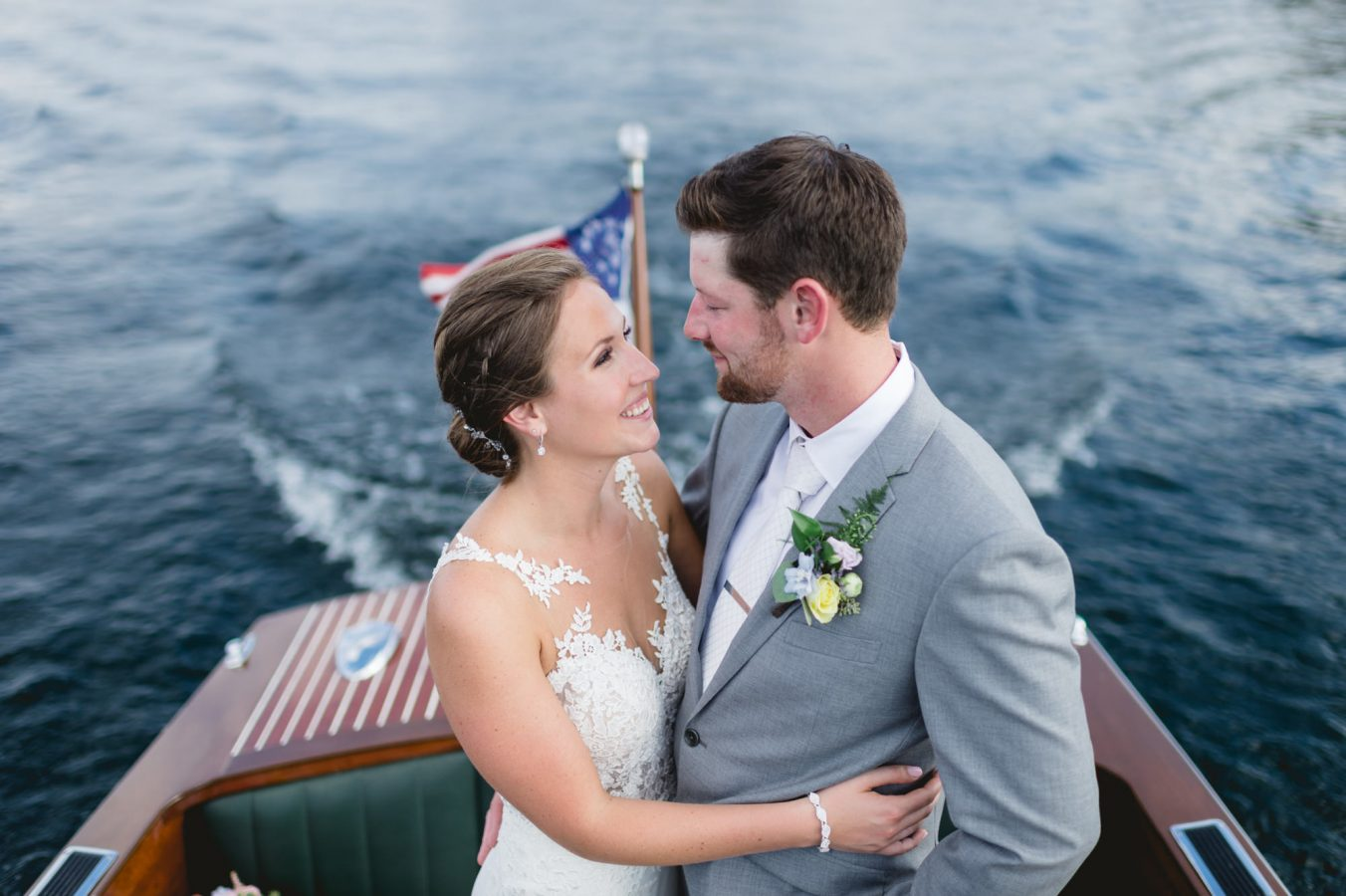 Meredith Church Landing Wedding NH